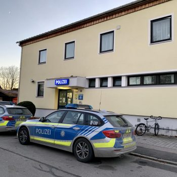 Polizeiinspektion Poing - aktueller Standort - Foto: Valentin Groß