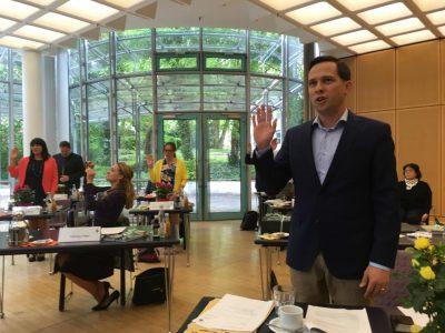 Vereidigung des FDP Kreisrats und FDP Fraktionsvorsitzenden im bayerischen Landtag Martin Hagen